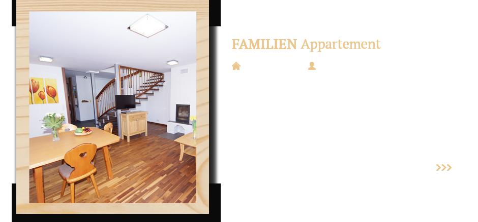 Familien Appartement